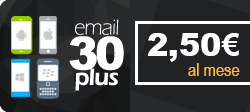 Professionl Email Service - 30 Gb total space