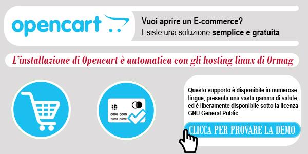 E-commerce Opencart